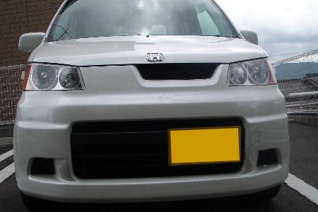 ホンダの軽自動車とナンバープレートのイメージ